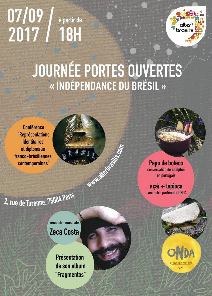 journée portes ouvertes - indépendance du Brésil