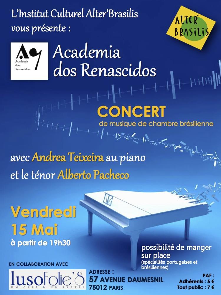 Concert Academia dos Renascidos